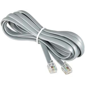 InstallerParts 7Ft RJ12 Modular Cable Reverse