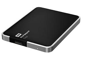 WD My Passport Edge for Mac 500GB Portable USB 3.0 External Hard Drive Storage (WDBJBH5000ABK-NESN)