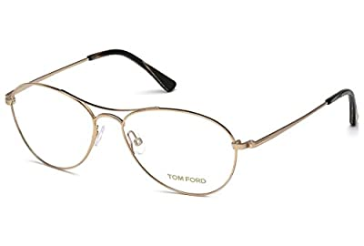 TOM FORD Eyeglasses FT5330 028 Shiny Rose Gold 54MM