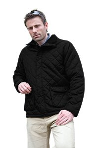 Result Mens Urban Outdoor Deep hood Jacket - X-Small, Black