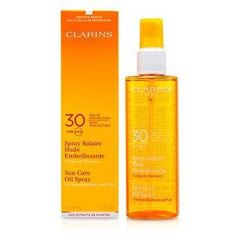 Clarins SPF 30 Sunscreen Care Oil Spray