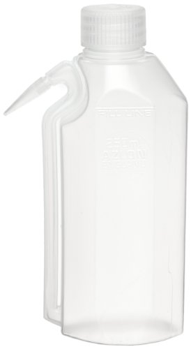 Azlon 506535-0500 500Ml Natural Drip And Leak Resistant Wash Bottle With Integrally Molded Tube (Case Of 5) front-368099