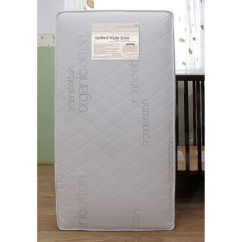 L.A. Baby 2-In-1 Organic Soy Foam Waterproof Mattress