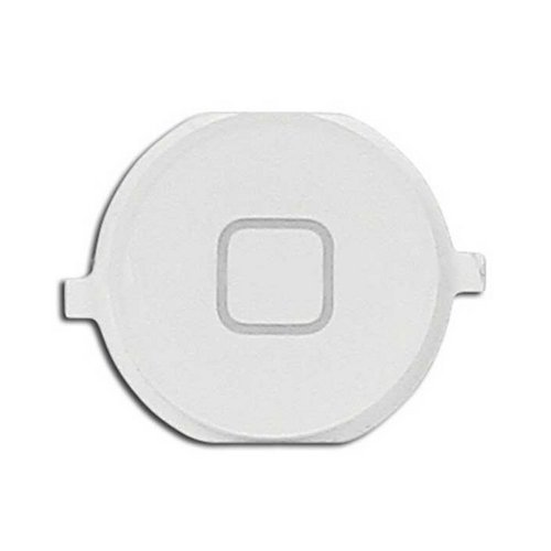 Epartsolution-Iphone 4S Plastic Home Button Menu Button White Replacement Part Usa Seller front-544050