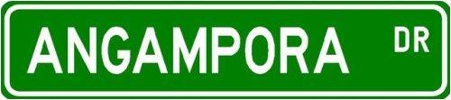 Angampora Street Sign ~ Martial Arts Gift ~ Aluminum