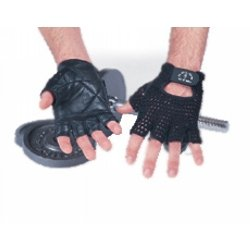 THREE PACKS of Golds Gym Mesh Back Glove Black X Large from Golds Gym