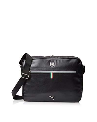 PUMA Men's Ferrari Ls Reporter Bag, Black