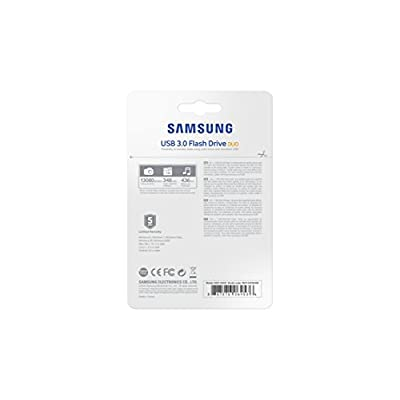 Samsung 128GB USB 3.0 Flash Drive Duo (MUF-128CB/AM)