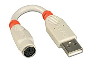 LINDY PS/2 to USB Adapter Cable (70511)