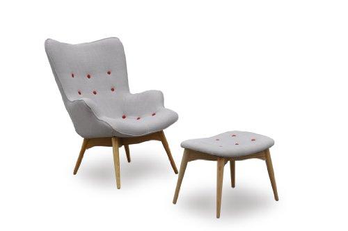 International Design USA Huggy Chair/Ottoman