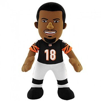 NFL Cincinnati Bengals A. J. Green Player Plush Doll, 6.5-Inch x 3.5-Inch x 10-Inch, Orange