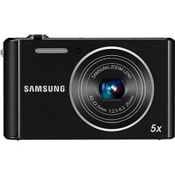 Samsung ST76 16 MP Compact Digital Camera - Black (EC-ST76ZZBPBUS)
