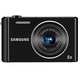 Samsung ST76 16 MP Compact Digital Camera - Black (EC-ST76ZZBPBUS)