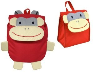 iPlay Backpack WITH Lunchbox (Monkey)
