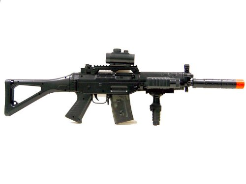BBTac BT-M82 fully automatic Electric Rifle (Automatic Bb Gun compare prices)