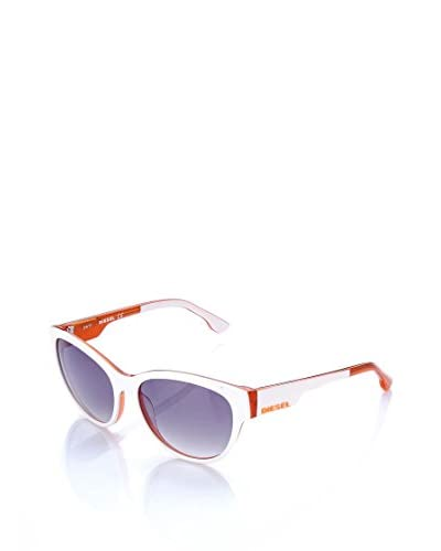 DIESEL Gafas de Sol DL0012 Blanco / Rojo