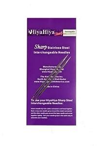 """Hiya Hiya Interchangeable 4"""" Sharps Steel Tips - Us 2/2.75Mm"""