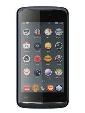 Intex Aqua Eco Smart Mobile Phone - (Black-Blue)