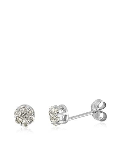 Fashion Strada 14K White Gold & Diamond Earrings