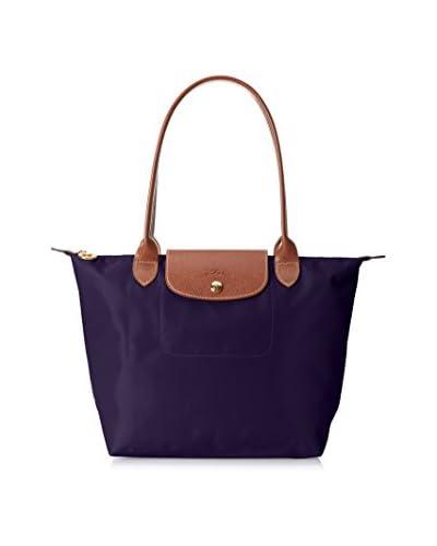 Longchamp Women's Le Pliage Sac Shopping Small Shoulder Bag, Bilberry