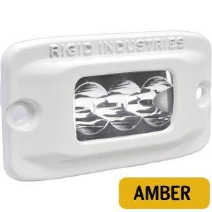 Rigid Industries 97212 M-Srm2F Amber Wide Led Light Flush Mount