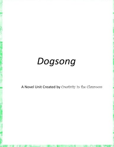 dogsong essay Dogsong questions free pdf ebook for the online the dogsong lesson plan contains a variety of teaching materials that cater to belonging essay questions past.