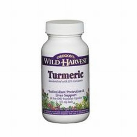 Turmeric - Antioxidant Protection & Liver Support, 60 Vcaps,(Oregon'S Wild Harvest)