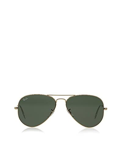 Ray-Ban Gafas de Sol Polarized 3025 _001/58 AVIATOR LARGE METAL (55 mm) Oro / Verde