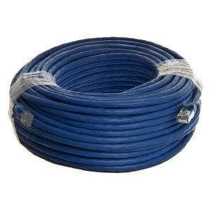 Networking Cat5e Patch Cable - (100 Feet) - Blue