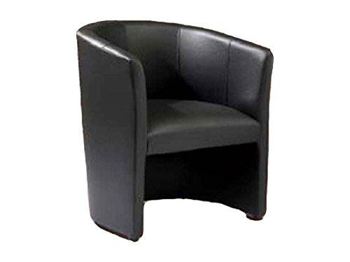 Design-Cocktailsessel-Sessel-Clubsessel-Loungesessel-Club-Mbel-Brosessel-Praxismbel-schwarz