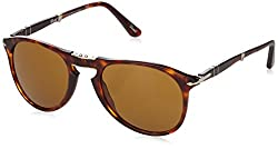 Persol 9714 24/33 Tortoise 9714S Wayfarer Sunglasses Lens Category 3 Lens Mirro