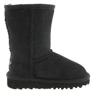 Kids UGG Australia Classic Boots Black 5