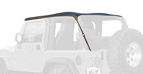 Rampage Jeep 109535 Trail Top - Frameless/Bowless TJ (99 Wrangler Top compare prices)
