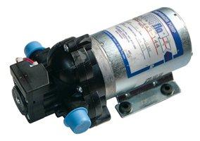 Pentair SHURflo 2088-443-144 Diaphragm Sprayer Pump 3.5 GPM Auto Demand with Back-Flow Preventive Valve and Self-Priming, 45-PSI, 12VDC, 1/2 MSPT-Male