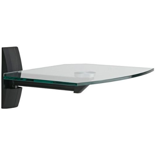 GLASS COMPONENT SHELVES (BLACK) (Catalog Category: