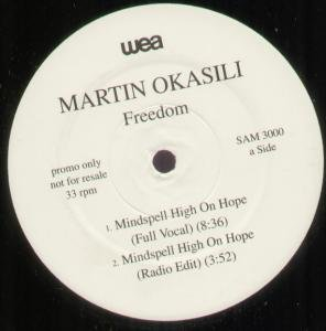OKASILI, MARTIN - Freedom - Maxi 45T