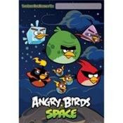 Imagen de Angry Birds Birthday Party Space tratamiento de las bolsas de botín Favor 8CT