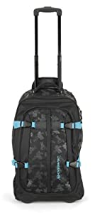 Urban Beach Drifter Wheelie Travel Bag with Handle - Black