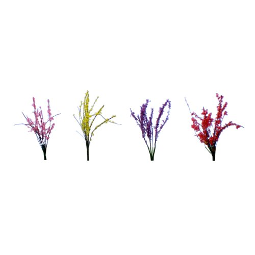 JTT Scenery Products Flowering Plants, Flower Bushes