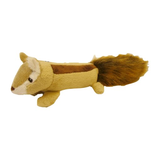 Pet Lou EZ Squeakers Dog Chew Toy 11-Inch Squirrel (Monsters Inc Add On compare prices)