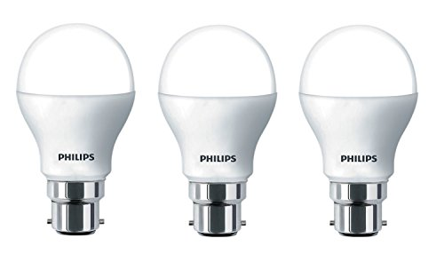 Philips 14W B22 LED Bulb (Cool Day Light, Pack of 3)