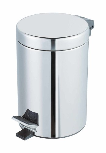 Exclusive Stainless Steel Cosmetic Pedal Bin 3 l