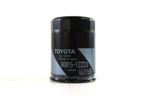 Toyota Genuine Parts 90915-YZZD3 Oil Filter