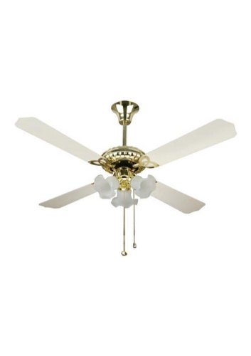 Warmex Ivory Gold 4 Blade (1200mm) Ceiling Fan