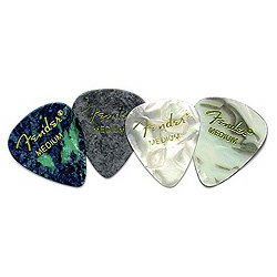 Fender 351 California Clears Guitar Picks, 12 Pack, Burgandy Mist, Thin at Sears.com