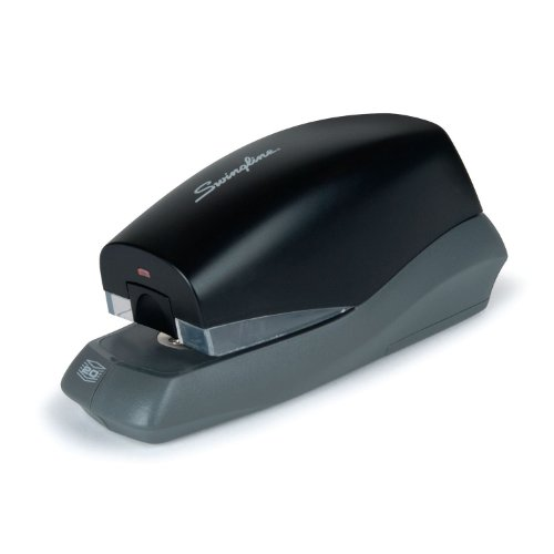Swingline Breeze Automatic Desktop Stapler, Battery Powered, 20 Sheet Capacity, Assorted Colors (S7042131)
