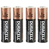 Duracell AA Battery 1.5 Volt Alkaline Pack Of 4
