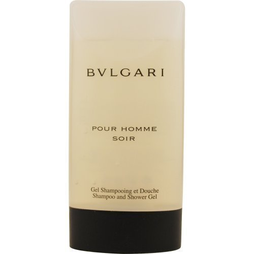 Bvlgari Pour Homme Soir Shampoo And Shower Gel For Men, 6.7 Ounce