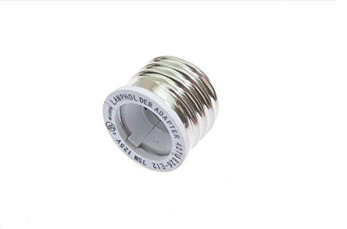 Shangge Ce&Rohs Certification 5 Pcs E26 To E12 Led Bulb Base Converter Halogen Cfl Light Lamp Adapter Socket Change Pbt