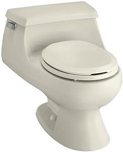Kohler K 3386 47 Rialto One Piece Round Front Toilet